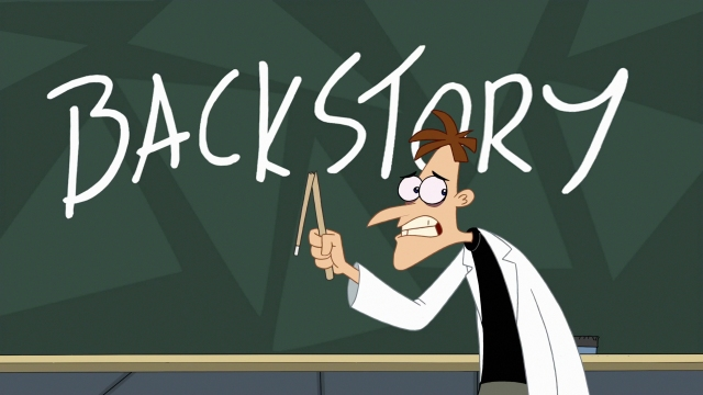 backstory on blackboard cartoon