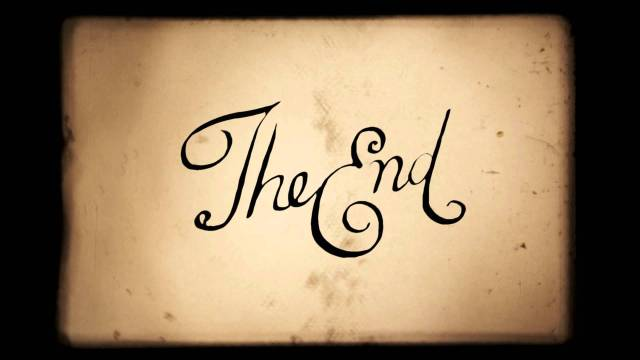 The End script