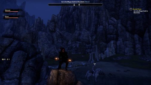 ESO screenshot of Osinor and Galerand