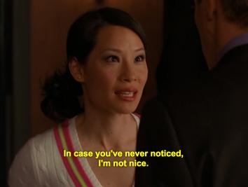 Ling Woo is not nice