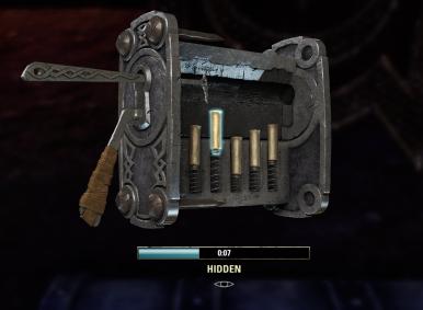 lock picking screenshot