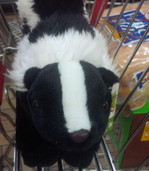 plush skunk