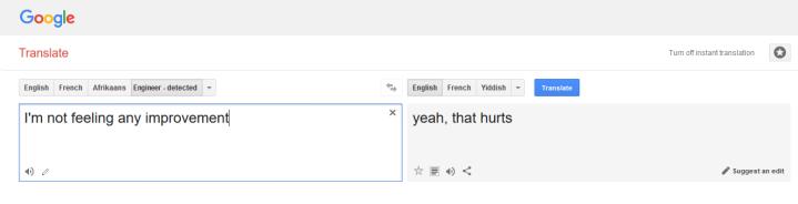 translating engineer speak