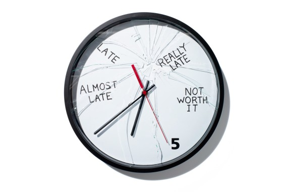 clock for the chronically late