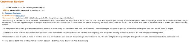 Christmas gun review