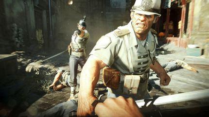 Dishonored screenshot (caught!)