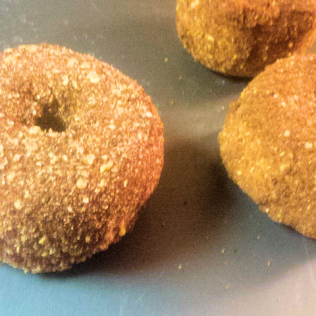 mac & cheese donuts