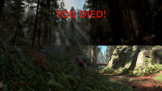 death screenshot
