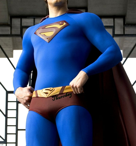 Superman's Thursday undies