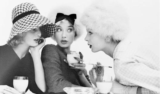 ladies gossiping