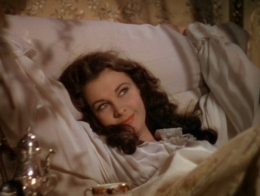 Scarlett O'Hara in bed