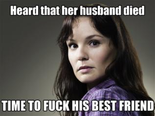 TWD Scumbag Lori meme