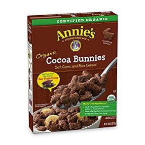 box of Cocoa Bunnies cereal