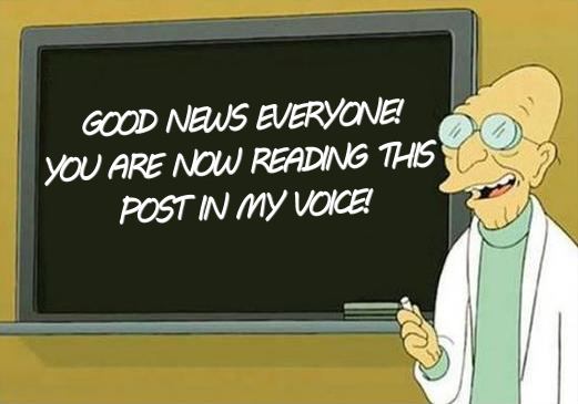 Dr Farnsworth GOOD NEWS