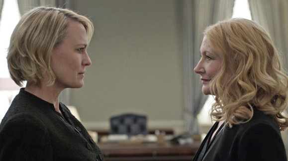 Jane Davis and Claire Underwood from House of Cards
