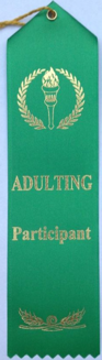 adulting ribbon: participant