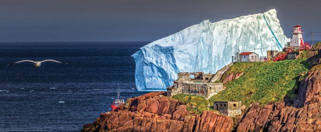 Iceberg off the coast of St John's