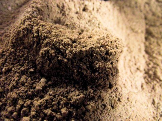 extreme closeup of cocoa mix