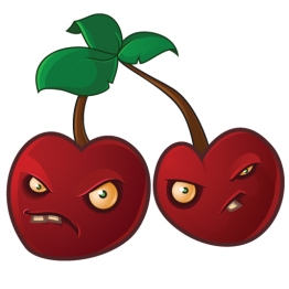 Cherry Bombs from Plants vs Zombies game