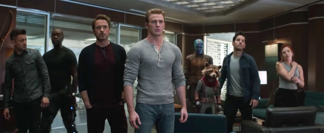 (Avengers: Endgame) Avengers, assembled (though somewhat casual)