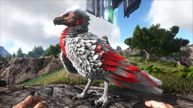 Ark screenshot of giant bird, majestic as fuck