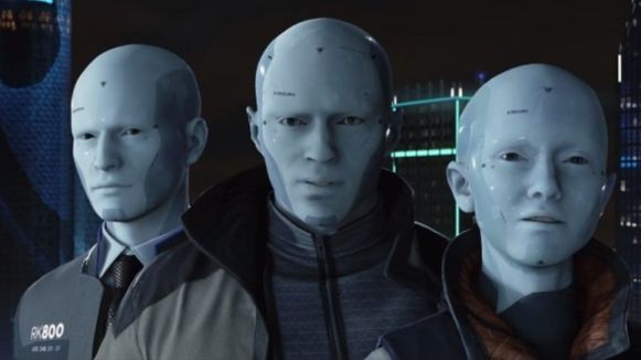 (Detroit: Become Human) 3 android figures