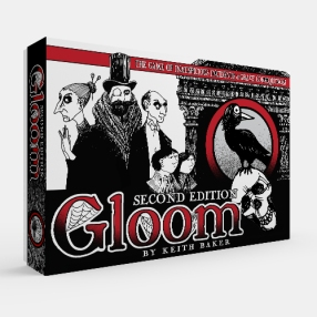 Gloom 2nd edition box (card game)